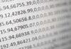 Uporządkowany zbiór numerów kodów pocztowych